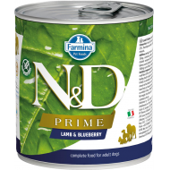 Farmina N&D Dog Prime Lamb & Blueberry 6x285g