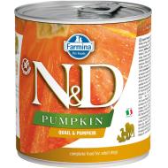 Farmina N&D Dog Pumpkin Quail 6x285g