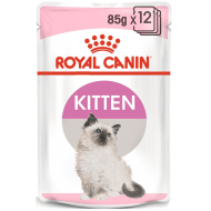 Royal Canin Kitten Instinctive in Gravy 12 x 85g