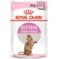 Royal Canin Kitten Sterilised Jelly 12 x 85g