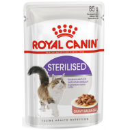 Royal Canin Sterilised in Gravy 12 x 85g