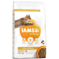 Iams Cat Adult Hairball Control Rich in Chicken 10 kg