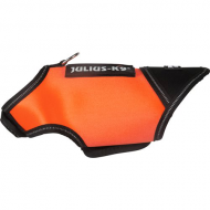 Julius K9 Neopren Hundejakke Oransje/Sort