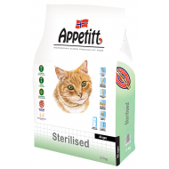 Appetitt Cat All Ages Sterilised