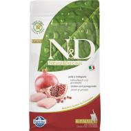Farmina N&D Cat Grain-Free Chicken & pomegranate Kitten 1,5 kg