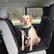 Trixie Bilseteteppe Hund Polyester Sort 145 x 160 cm