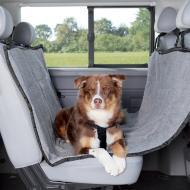 Trixie Bilseteteppe hund lysegrå 1,45 x 1,60 m