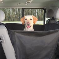Trixie Bilseteteppe med Kanter Hund Sort 150 x 135 cm