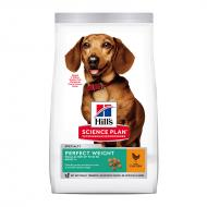 Hill's Science Plan Dog Adult Perfect Weight Small & Mini Chicken - Utgående vare