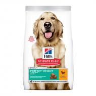 Hill's Science Plan Dog Adult Perfect Weight Large Chicken 12 kg