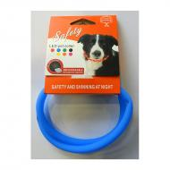 Trine LED Halsbånd med USB Lading Blå