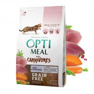 OPTIMEAL Cat All Age Grain Free Duck & Veggies