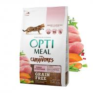 OPTIMEAL Cat All Age Grain Free Turkey & Veggies