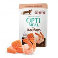 OPTIMEAL Cat All Ages Grain Free Salmon & Shrimps in Gravy