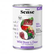 Dibaq Sense Dog Wild Boar & Deer All Breeds våtfôr