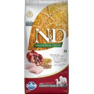 Farmina N&D Dog Low Grain Chicken & Pomegranate Adult Med/Max