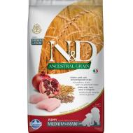 Farmina N&D Dog Low Grain Chicken & Pomegranate Puppy Med/Max