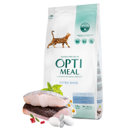 OPTIMEAL Cat Adult & Senior Skin & Coat Hign in Cod Fish