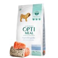 OPTIMEAL Dog Adult & Senior Medium & Maxi Breed Hypoallergenic Salmon