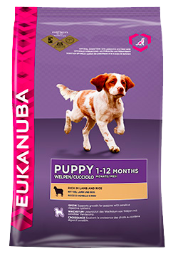 Eukanuba Puppy All Breed Rich in Lamb & Rice 12 kg