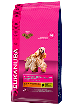 Eukanuba Adult Medium Breed Weight Control