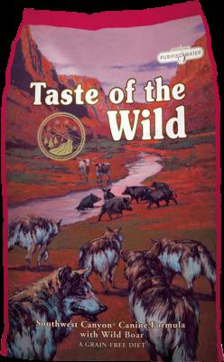 Taste of the Wild Dog Southwest Canyon Wild Boar 13,61 kg