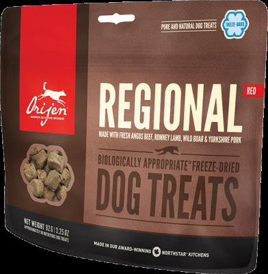 Orijen Dog Treats Regional Red 42,5g