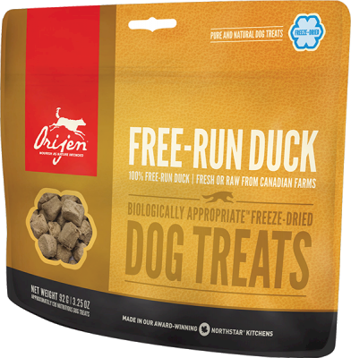 Orijen Dog Treats Free-Run Duck