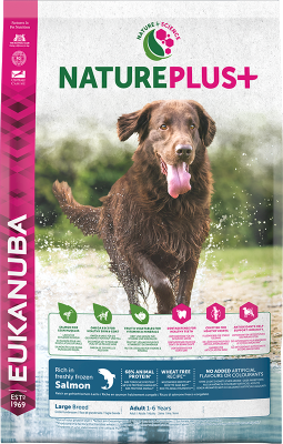 Eukanuba NaturePlus Adult Large rich in freshly frozen Salmon