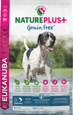 Eukanuba NaturePlus Grain Free Adult All Breed rich in freshly frozen Salmon