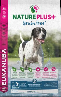 Eukanuba NaturePlus Grain Free Adult All Breed rich in freshly frozen Salmon 10 kg