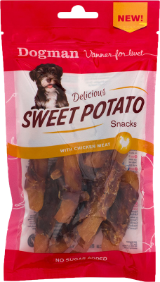 Dogman Sweet Potato Snacks Kylling