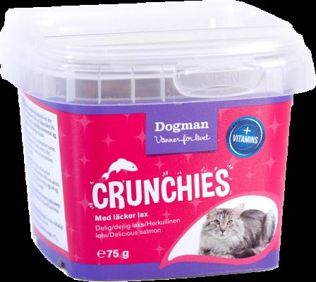 Dogman Crunchies Laks 75g