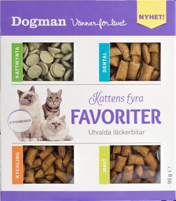 Dogman Kattens Fire Favoritter 95g