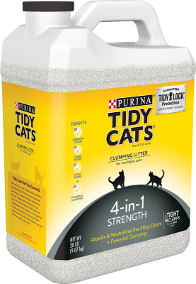 Tidy Cats 4-in-1 Strength Kattesand