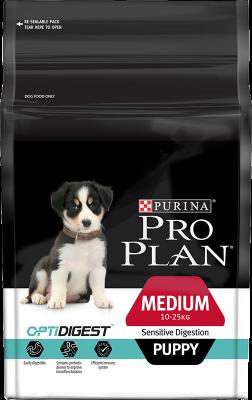 Purina Pro Plan Puppy Medium Sensitive Digestion OPTIDIGEST 12 kg