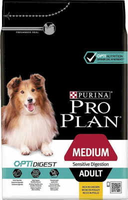 Purina Pro Plan Adult Medium Sensitive Digestion OPTIDIGEST
