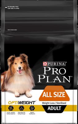 Purina Pro Plan Adult All Size Light/Sterilised OPTIWEIGHT 14 kg