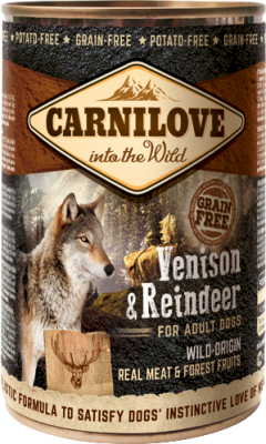 Carnilove Dog Venison & Reindeer Canned