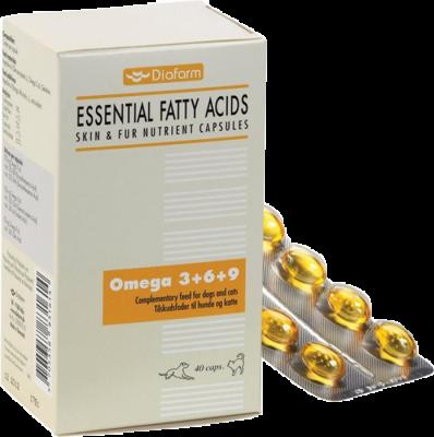 Diafarm Omega 3+6+9 kosttilskudd 40 stk