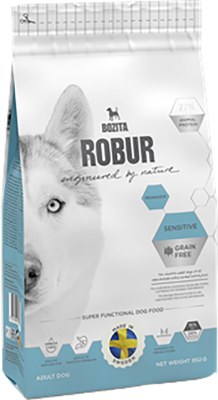 Bozita Robur Dog Sensitive Grain Free Reindeer