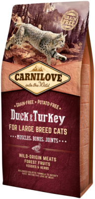Carnilove Cat Large Breed for Muscles, Bone & Joints