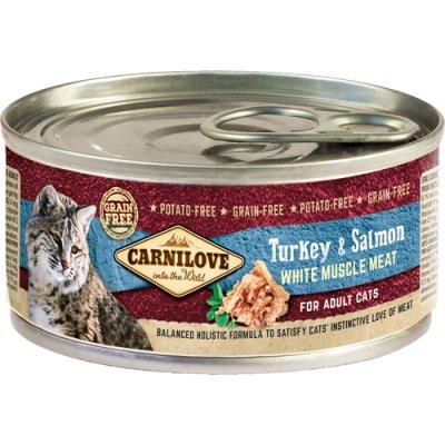 Carnilove Cat Kalkun & Laks Adult 12 x 100g