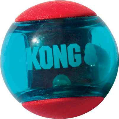 Kong Squeezz Action Aktivitetsleke Red