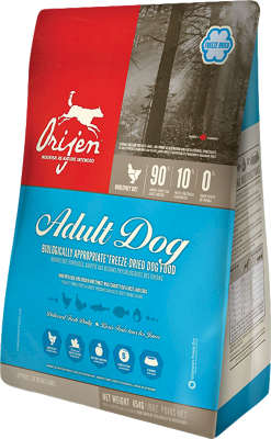 Orijen Frysetørket Adult Dog
