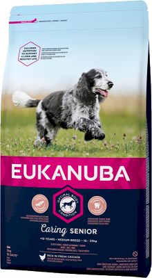 Eukanuba Caring Senior Medium Breed