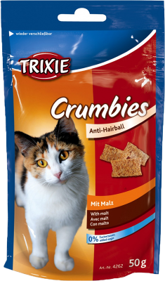 Trixie Crumbies med malt 50 g