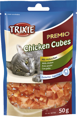 Trixie Premium Chicken Cubes