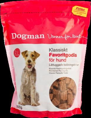 Dogman Favorittgodis Klassisk 900 g