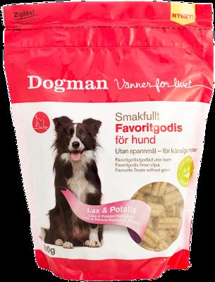 Dogman Favorittgodis Laks & Potet 800 g